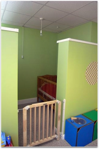 Baby sleeping area